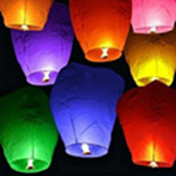 Sky Lanterns Color 2