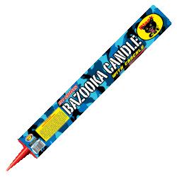 Bazooka Candle With Crackle