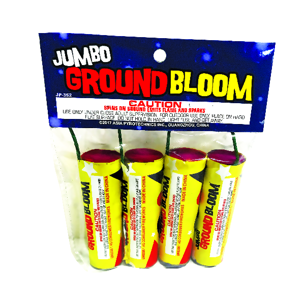 Jumbo Ground Bloom Crackle