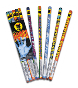 Handful Roman Candle