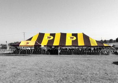 Our tent - Circa 2011